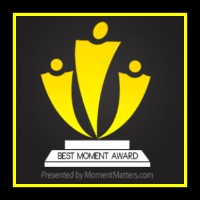 The Best Moment Blog Award