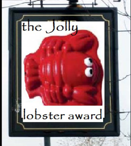 Yes, a Jolly Lobster Award