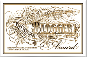 The Inspiring Blogger Award