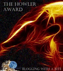 the Howler blog award