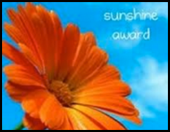The Sunshine Blog Award-Thank you funnyphilosopher