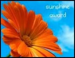 The Sunshine Blog Award-Thank you funnyphilosopher