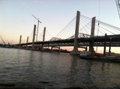New bridge is almost done